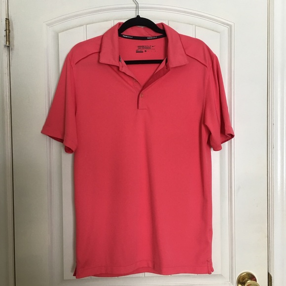 Nike Golf Tour Performance Dry Fit Shirt Small